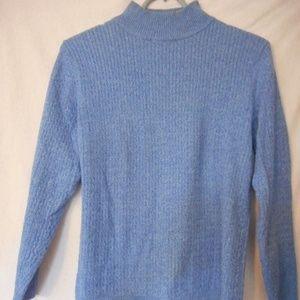 Karen Scott Petites mock turtleneck Sweater
